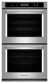 kitchenaid 27 built in double electric wall oven stainless steel larger