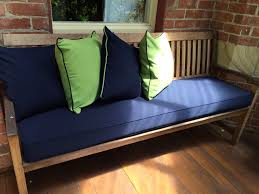 bench cushion dining outdoor  cushion factory kathryn mcardle photo   cushion factory