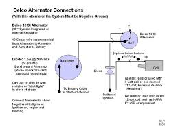 12volt conversion yesterday s tractors here s basic diagram for delco alternator internal regulator