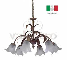 wrought iron chandelier suspension artistic in italy from valastro lighting
