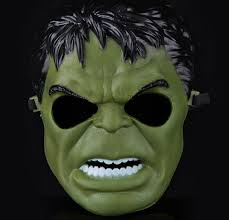 Mask Decorating Supplies 100 Animated Cartoon The Incredible Hulk Mask Party Decoration 89