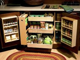 image of kitchen cabinet organizers shelves