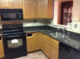 Kitchen Granite Counter Top Granite Kitchen Countertops Donna S Tan Brown Granite Kitchen