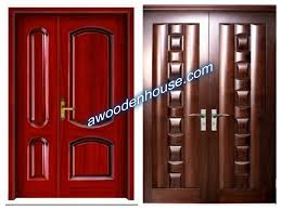Design Of - Home Door Designs With Solid And Simple Design