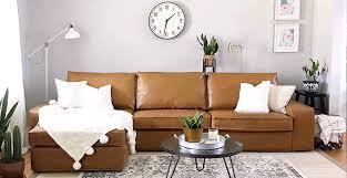 leather sofa kivik sofa cover leather