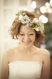 ウェディング 花嫁 髪型 ボブ Sanpatsu 花嫁 髪型 クラシカル ボブ