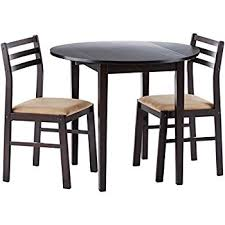 coaster 3 piece dining set cappuccino piece dining set c49