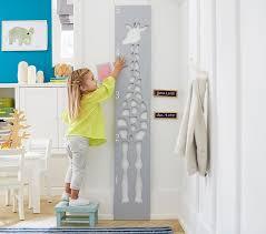 Giraffe Cutout Kids Growth Chart Pottery Barn Kids