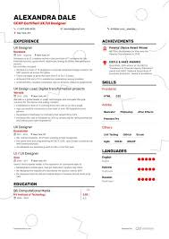 resume ux designer 10 ux designer resume examples ux design resume samples