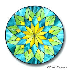 stained glass ideas for beginners stained glass ideas mosaic mandala by mosaics for beginners stained glass stained glass ideas for beginners