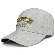 vincent motorcycle logo for men and