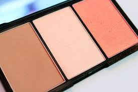 sleek makeup face form fair 380 contouring and blush palette