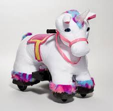 best toys 2017 dynacraft s le buds unicorn 6v plush ride on