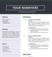 Professional Resume Layout Resume Template Resume Professional
