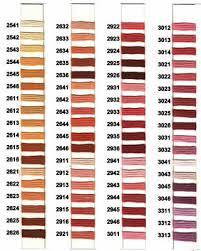Soie D Alger Colour Chart