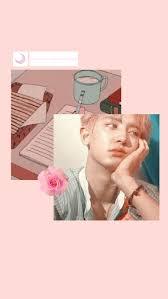 pink aesthetic pastel wallpaper exo ...