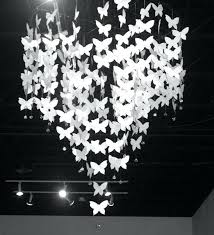 3d paper chandelier best to make paper craft images on erflies a girls night out 3d