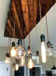 edison bulb kitchen light