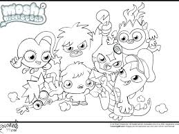 Monster Coloring Pages Printable Monsters Coloring Pages Monster