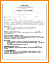 7 Professional Resume Template Examples The Stuffedolive Restaurant