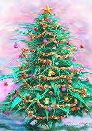German Police Seize Marijuana Christmas Tree