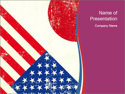 American And Japanese Flags Powerpoint Template Infographics Slides