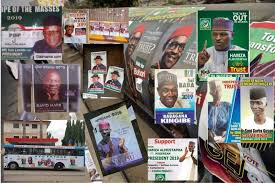 Image result for pasting of posters in lagos