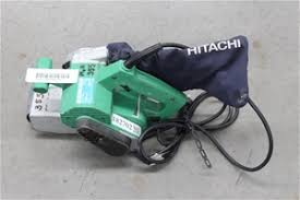 hitachi belt sander. hitachi belt sander model: sb-75 single w
