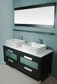 awesome 58 inch double vanity and lovable 55 inch double sink vanity silkroad exclusive alameda 55