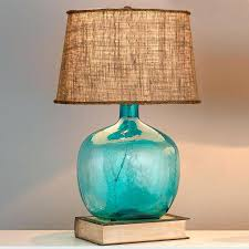 turquoise table lamps lamps turquoise glass lamp base clear glass table lamp turquoise colorful table lamps