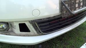 снятие <b>решётки бампера</b> + <b>сетка</b> в <b>бампер</b>, VW polo sedan ...