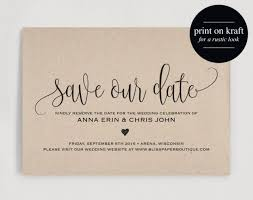 Print Save The Date Cards Save The Date Template Save The Date Card Save The Date Printable