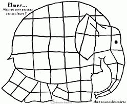 Elmer Coloring Elephant Page Pictures Elmer Coloring Elephant Page