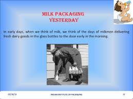 Milk Being Supplied In Tetra Pack And Through Vending Machines Unique Milk Packaging Yesterday Today Tomorrrow