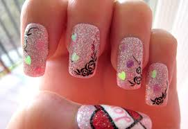 20 Modish and Stylish Valentines Nail Designs 2014 - Be Modish