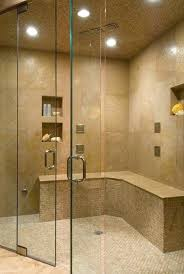 built in shower add a built in niche to the custom shower build shower pan red
