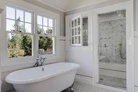 traditional white bathroom designs. Traditional Bathroom Design Ideas With Freestanding Tub Soaking Indoor Window White Designs E