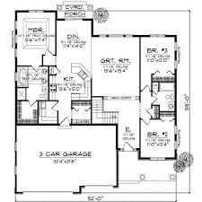 greenridge acadian ranch home plan 077d0244 house planore