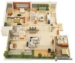 4 bedroom house designs. Interesting Bedroom 50 Four  For 4 Bedroom House Designs L