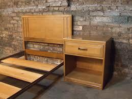 Kroehler Bedroom Furniture Mid Century Chicago Kroehler Twin Bed And Nightstand