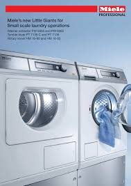 miele t 369c vent ed dryer operating