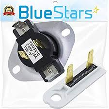 amazon com whirlpool 3387134 fixed thermostat for dryer home whirlpool cabrio dryer wiring diagram at Whirlpool Cabrio Dryer Wiring Diagram