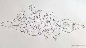how to draw graffiti for beginners