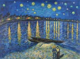 vincent van gogh starry night over the rhone 2