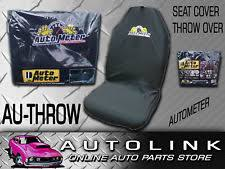 autometer logo. autometer throwover seat cover w/ logo bucket seats suit ford falcon ba bf fg xr autometer logo