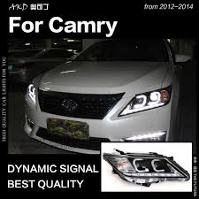 2014 Camry Led Lights Us 427 93 23 Off Akd Car Styling For Toyota Camry Headlights 2012 2014 Camry V50 Led Headlight Drl Hid Head Lamp Angel Eye Bi Xenon Accessories In