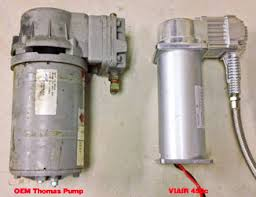 cti trouble shooting repair thomas pump and viair 450 pump
