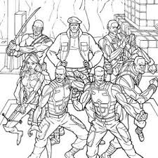 Small Picture GI Joe Scarlett on Commad Coloring Pages Batch Coloring