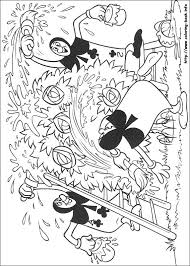 Small Picture Alice in Wonderland coloring pages on Coloring Bookinfo