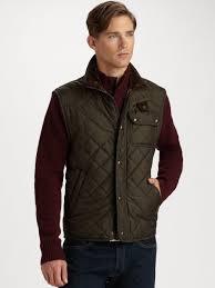Lyst - Polo ralph lauren Richmond Quilted Vest in Black for Men & Gallery Adamdwight.com